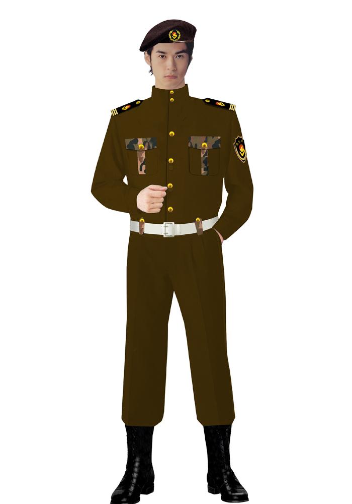 夹克式保安服