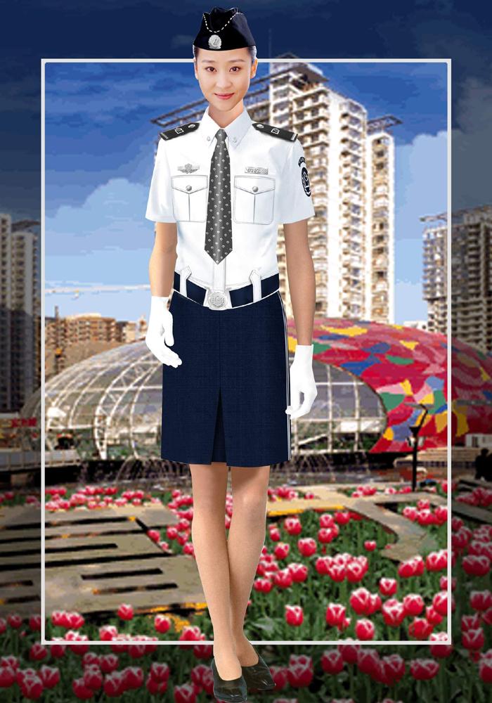 保安服女夏装