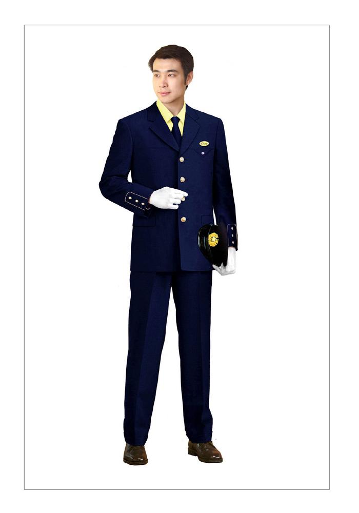 保安服西服装
