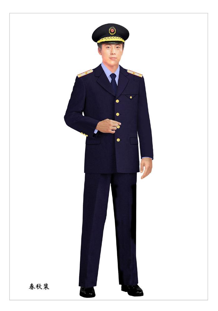 秋装保安服