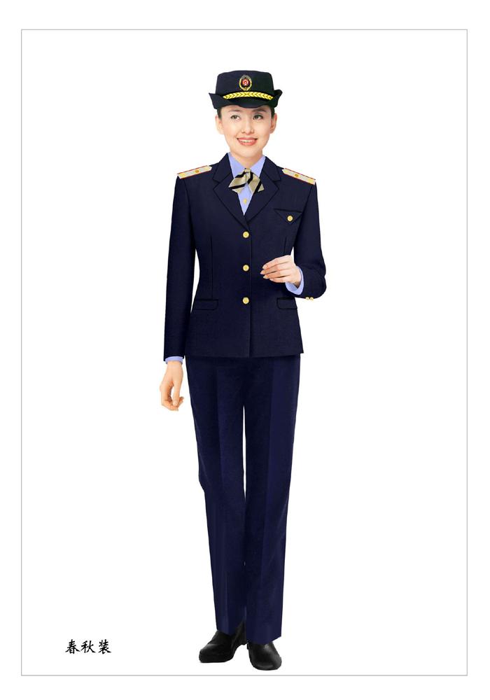 女士制式保安服