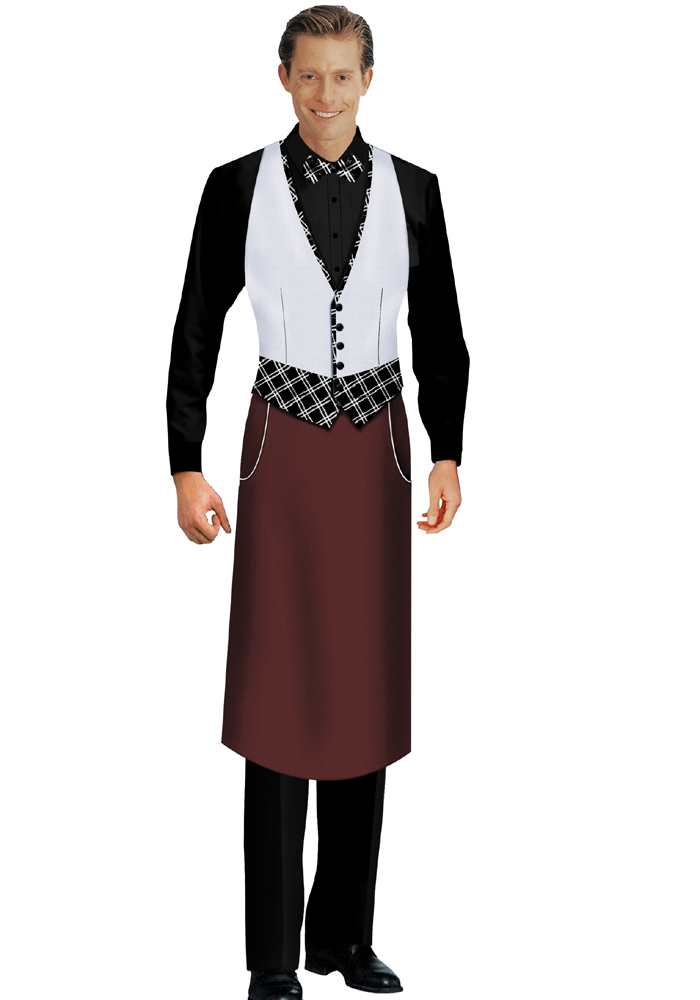订做西餐传菜员服装