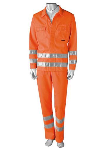 带反光条工作服通常被用在哪些行业?