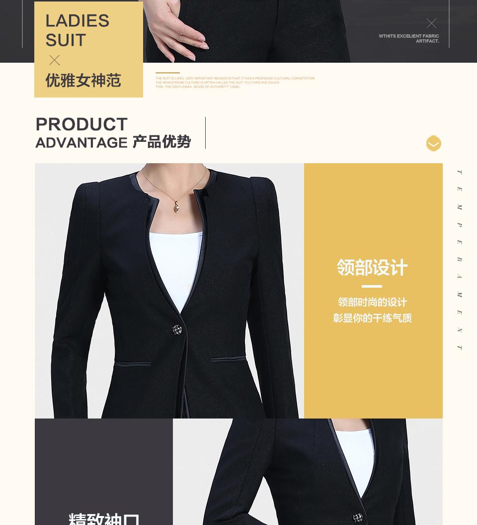 V领时尚职业装FX30