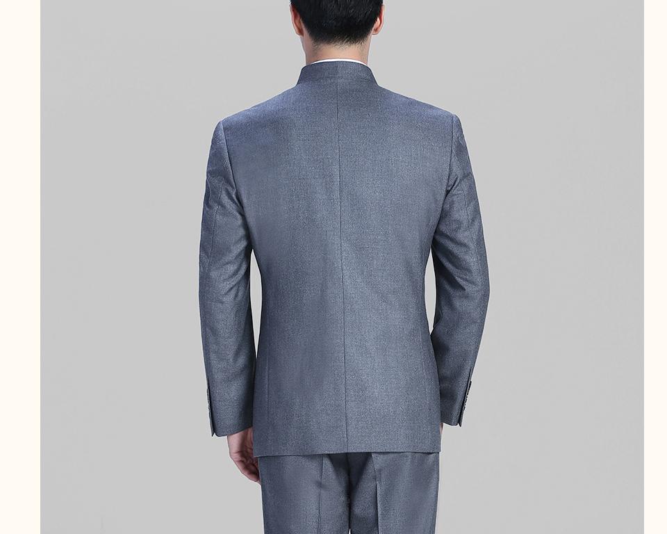 休闲灰色中华立领FX10