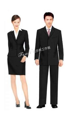 订制商务制服一般选用什么面料?穿着上有什么讲究?